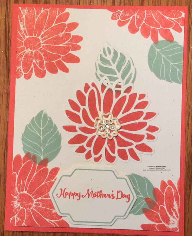 Stampin Up retired SPECIAL REASON Stamp SET /& STYLISH STEMS Dies ~ Mothers Day