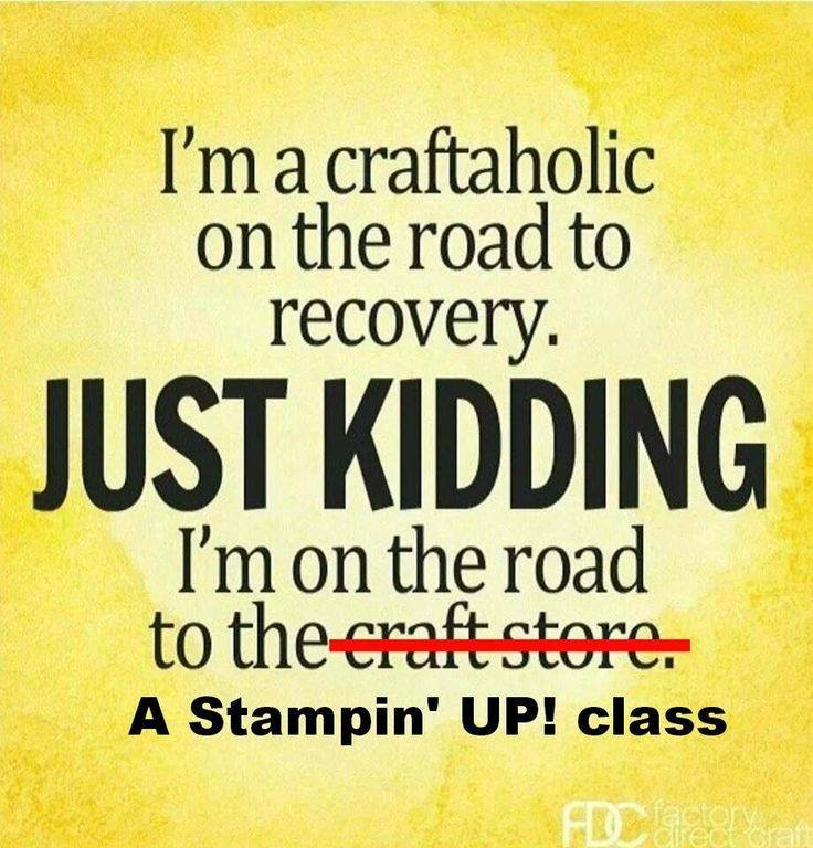 A Stampin' Up! Class