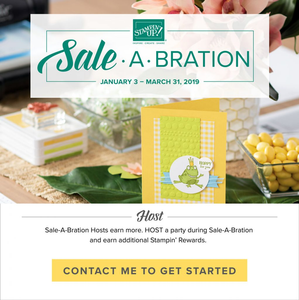 Sale-A-Bration Host