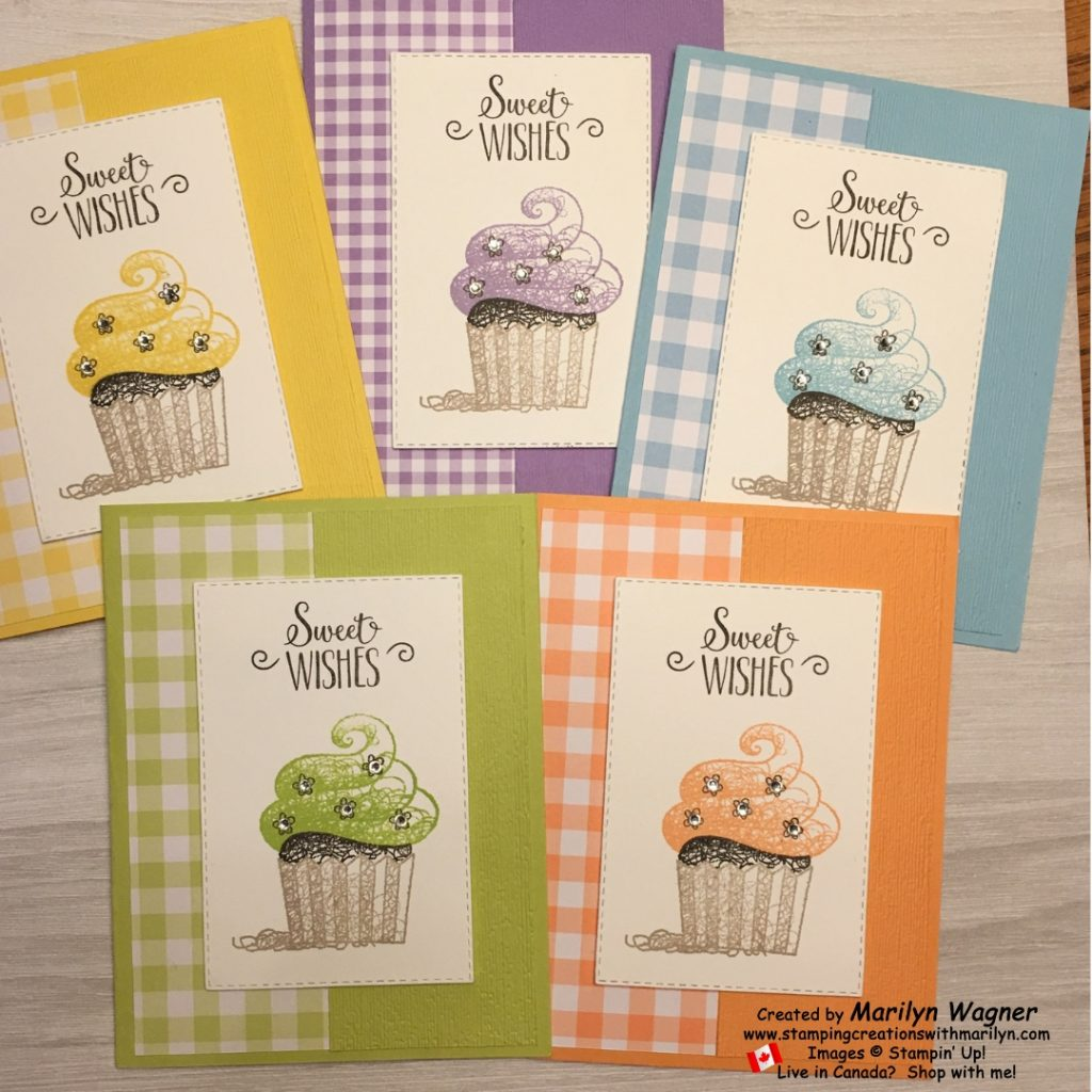 Hello Cupcake - group of 5