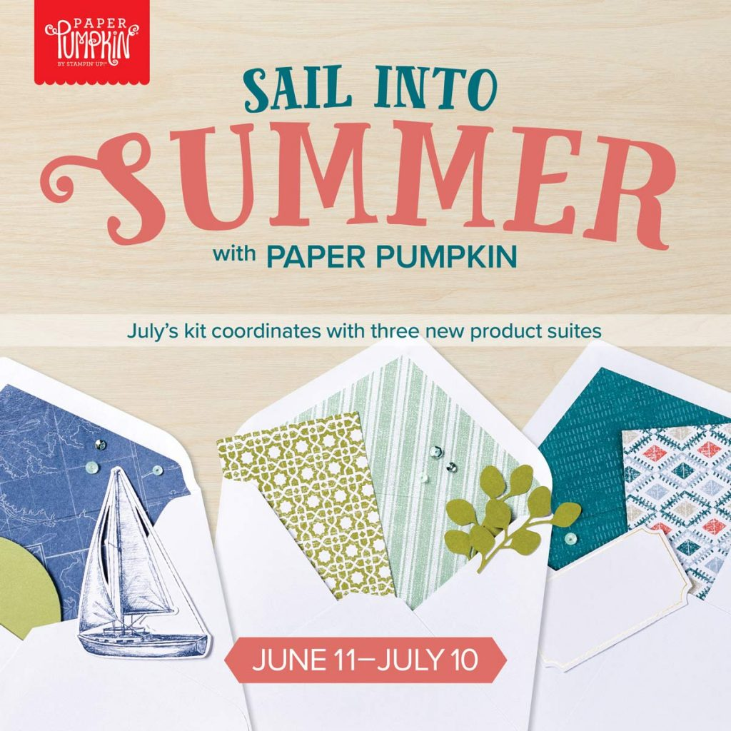 Sale Into Summer with Paper Pumpkin