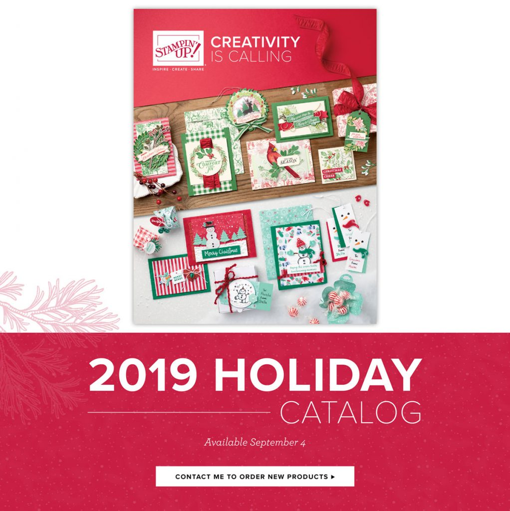 2019 Holiday Catalogue Cover